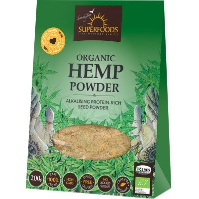 SuperFoods Hemp Seed Protein: Builds Muscle, Boosts Energy, Vegan Protein Source