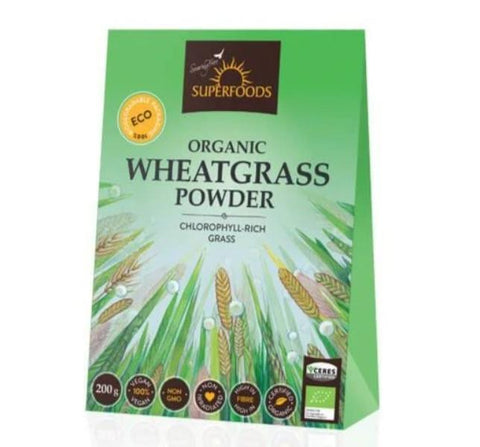 Superfoods Organic Wheatgrass powder South Afrca