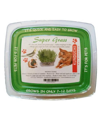 Super Grass Food Supplement: For birds, dogs, cats, small mammals, etc | Kunduchi