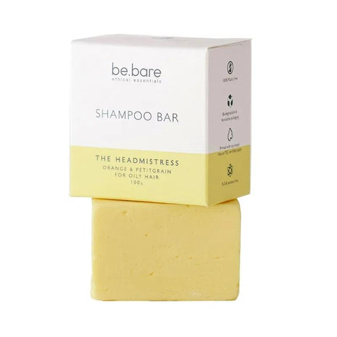 Eco-friendly and natural shampoo bar (100g) suitable for oily hair types