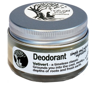 Natural Yogi organic natural eco-friendly recyclable deodorant anti-perspirant vetiver