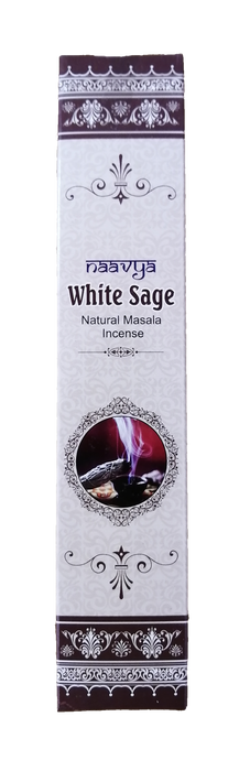 Naavya White Sage Natural Masala Incense