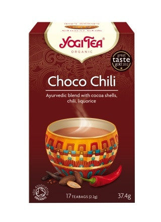 Yogi Organic Choco Chili Tea:  Spicy, Sensuous & Exciting!
