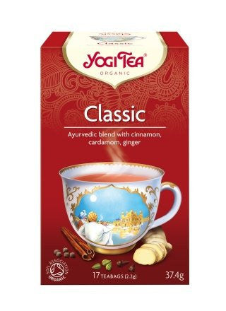Yogi Organic Classic Tea: Power, Warmth, India!