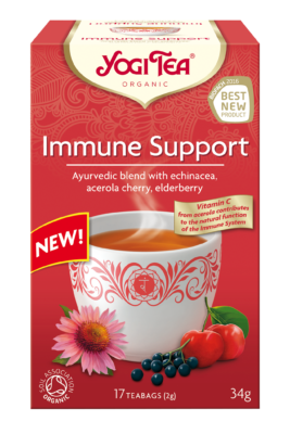 Yogi Organic Tea:  Soothing Immune Support