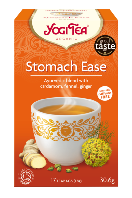 Yogi Organic Tea:  Stomach Ease for Digestive Comfort
