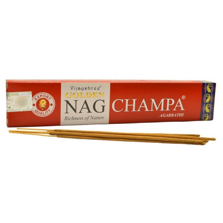 Premium non-toxic, eco-friendly Nag Champa incense sticks (15g)