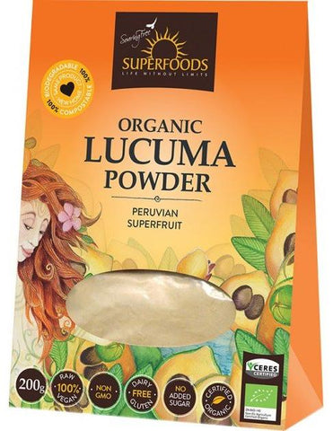 Lucuma Superfoods Organic Powder