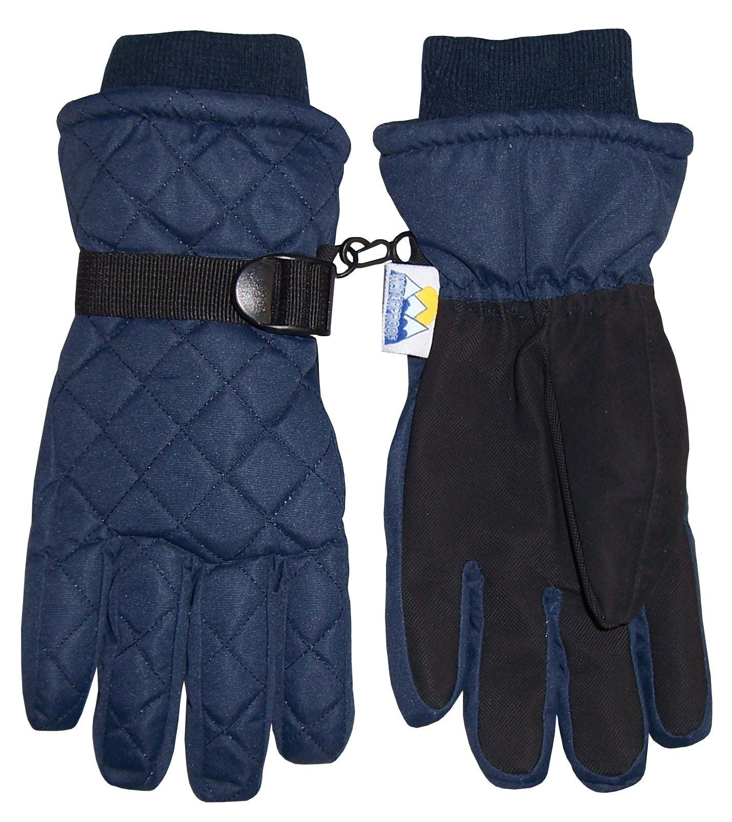 ed49ed893 Details about NICE CAPS Kids Boys Girls Quilted Snow Ski Waterproof Thinsulate  Winter Gloves