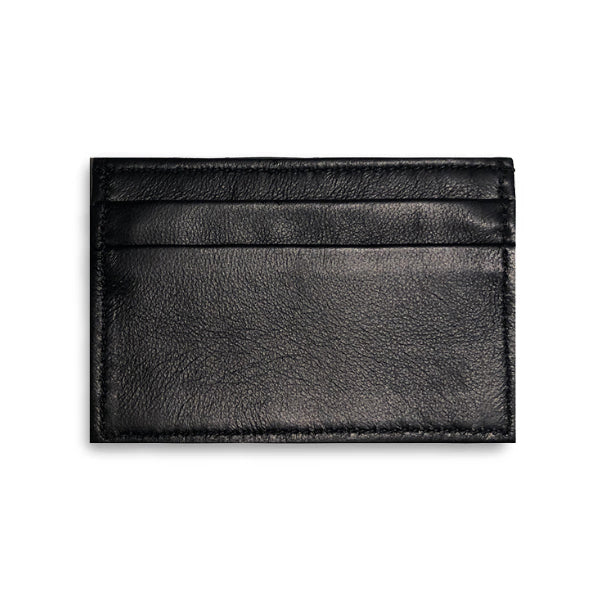 Adelaide Wallet - Midnight Black Alligator W/ Black Lamb
