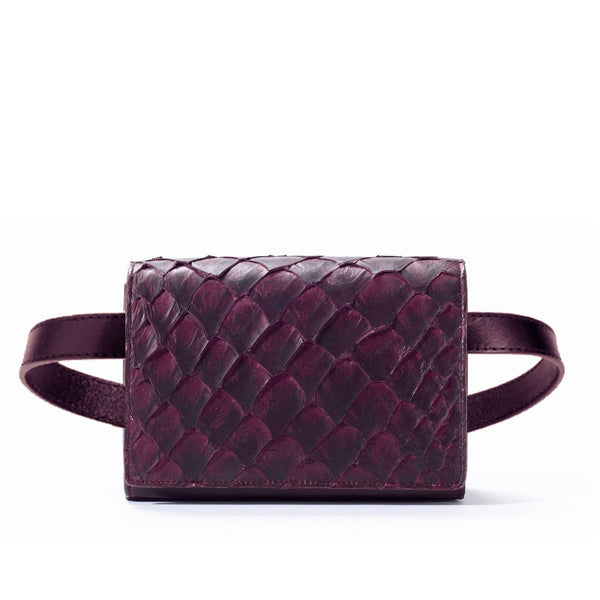 Cintura Beltbag - Bordeaux Pirarucu