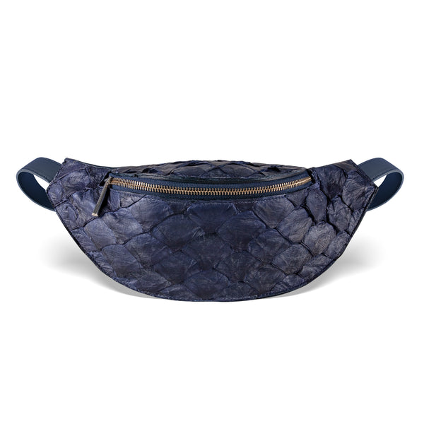 Mac Pack Fanny Pack - Evening Blue Pirarucu
