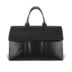piper & skye black weekender for luxury travel