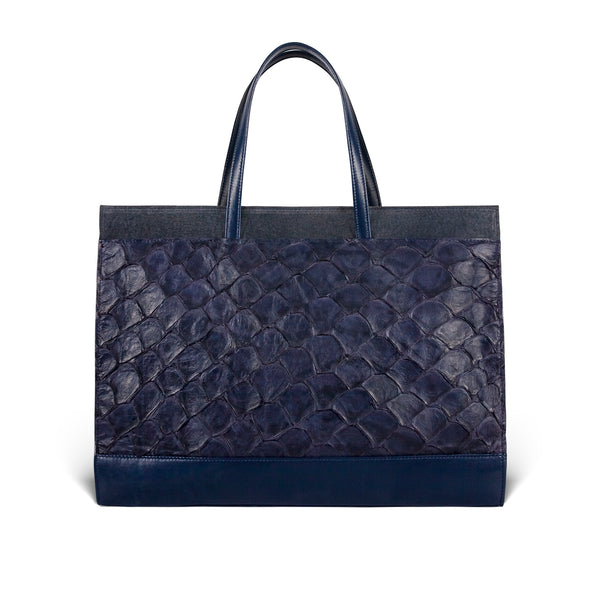Braemar Tote - Evening Blue