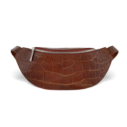 Mac Pack Fanny Pack - Cognac Alligator