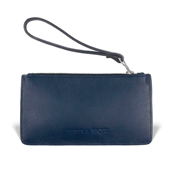 Daya Pouch - Evening Blue Pirarucu
