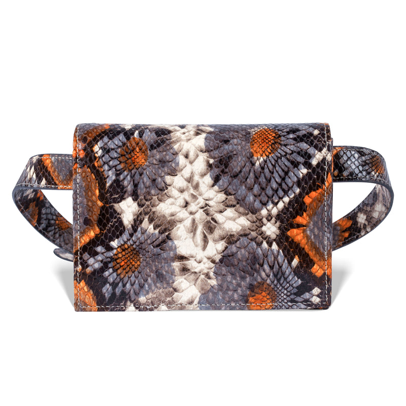Cintura Beltbag - Floral Embossed Leather