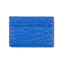 cobalt leather cardholder from piper and skye