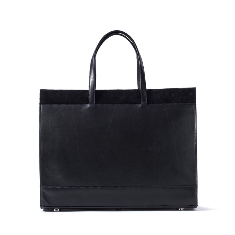 Braemar Tote - Midnight Black Pirarucu