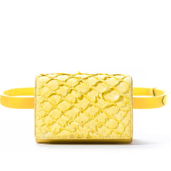 Cintura Beltbag - Canary Yellow Pirarucu