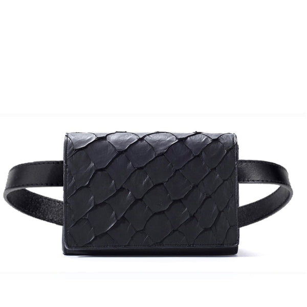 Cintura Beltbag - Midnight Black Pirarucu