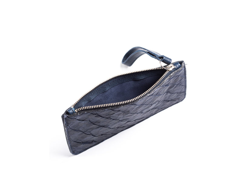 interior view of daya wristlet by piper & skye