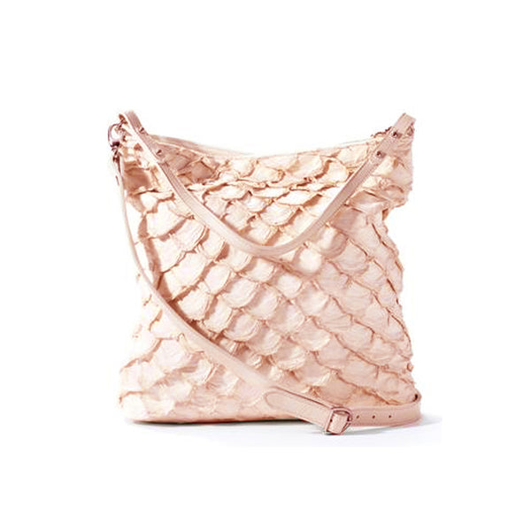 Playa Bucket Bag - Pink Pirarucu