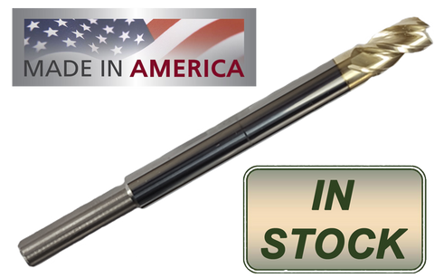"5/16"" ""ZrN"" Coated Carbide End Mill Compatible with Easy Jig Gen 2, 5D Tactical and Juggernaut Tactical Jigs"