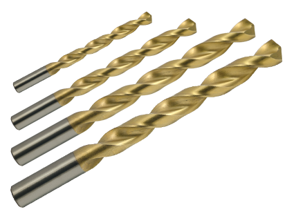 "Drill Bit Kit - 1/4""- 3 Flute - 3/4"" LOC - 4"" OAL - ZrN Coated 80% AR15-AR10 Lower Receiver Jig End Mill"