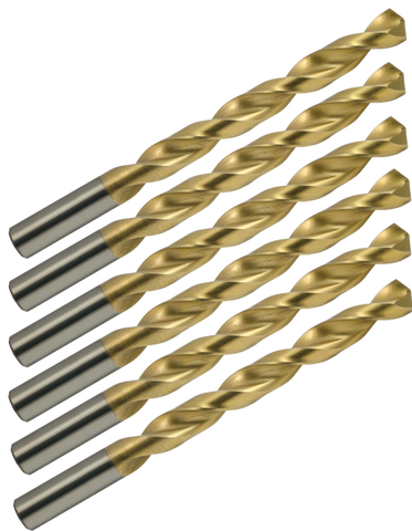 "Drill Bit - 1/4""- 3 Flute - 3/4"" LOC - 4"" OAL - ZrN Coated 80% AR15-AR10 Lower Receiver Jig End Mill"
