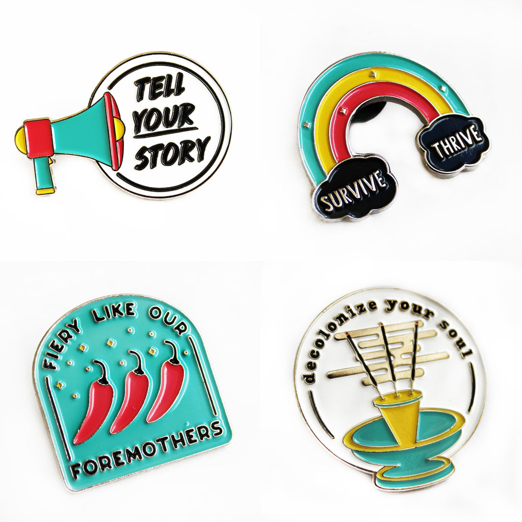 18MR x Safwat Saleem Enamel Pins Pack