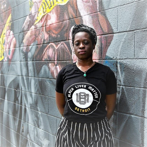 Black Lives Matter Detroit T-Shirt
