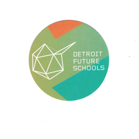 Detroit Future Schools Logo Card