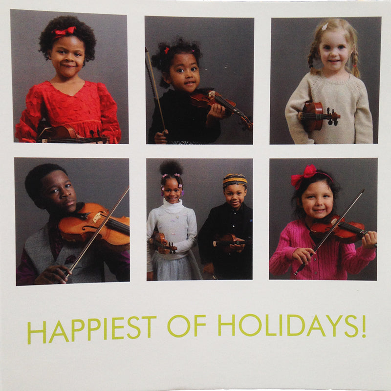 Detroit Youth Volume Holiday Card