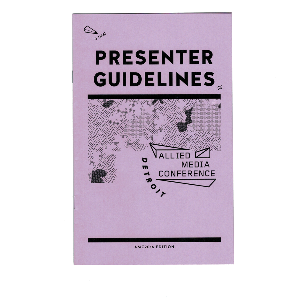 AMC Presenter Guidelines 2016 Edition