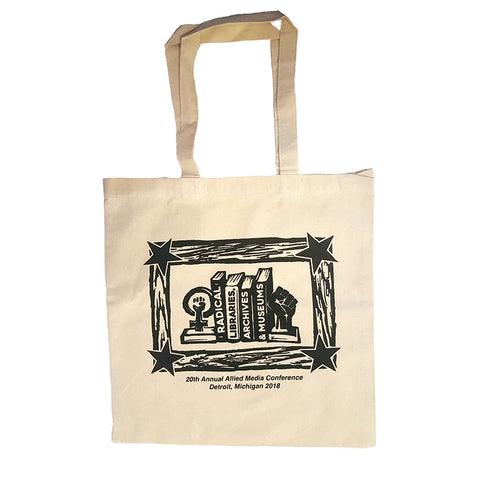 2018AMC Radical Libraries, Archives + Museums tote bag