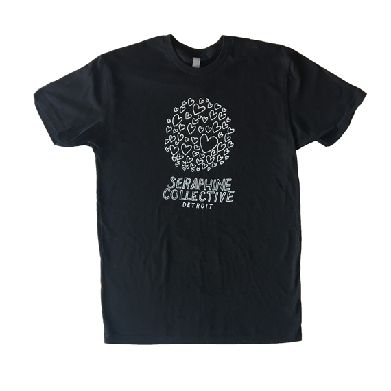 Black Seraphine Collective T-shirt