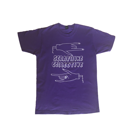 Purple Seraphine Collective T-shirt