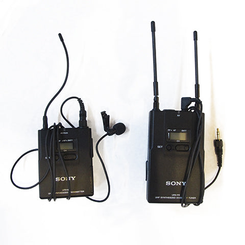 Lavalier Mic Kit (wired or wireless)