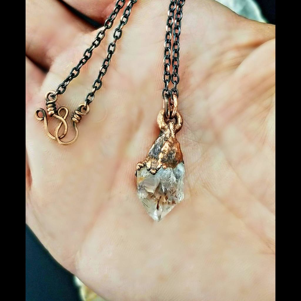 Golden Rutile Quartz Necklace