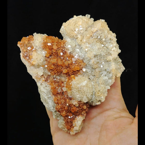 Two Toned Aragonite Cluster from Spain