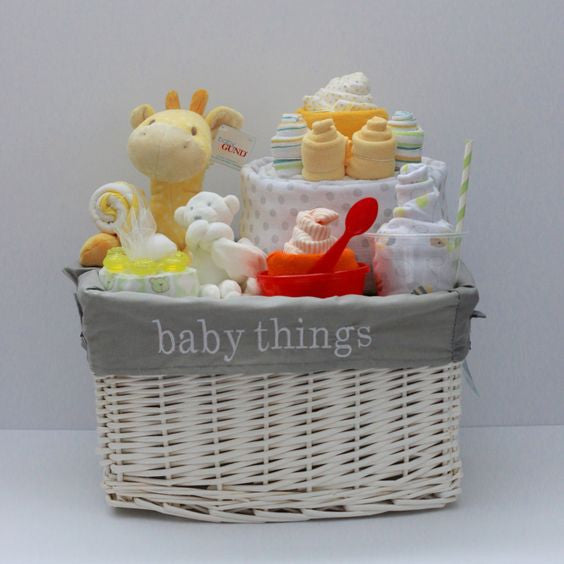 Get Carried Away with a Baby Gift Basket