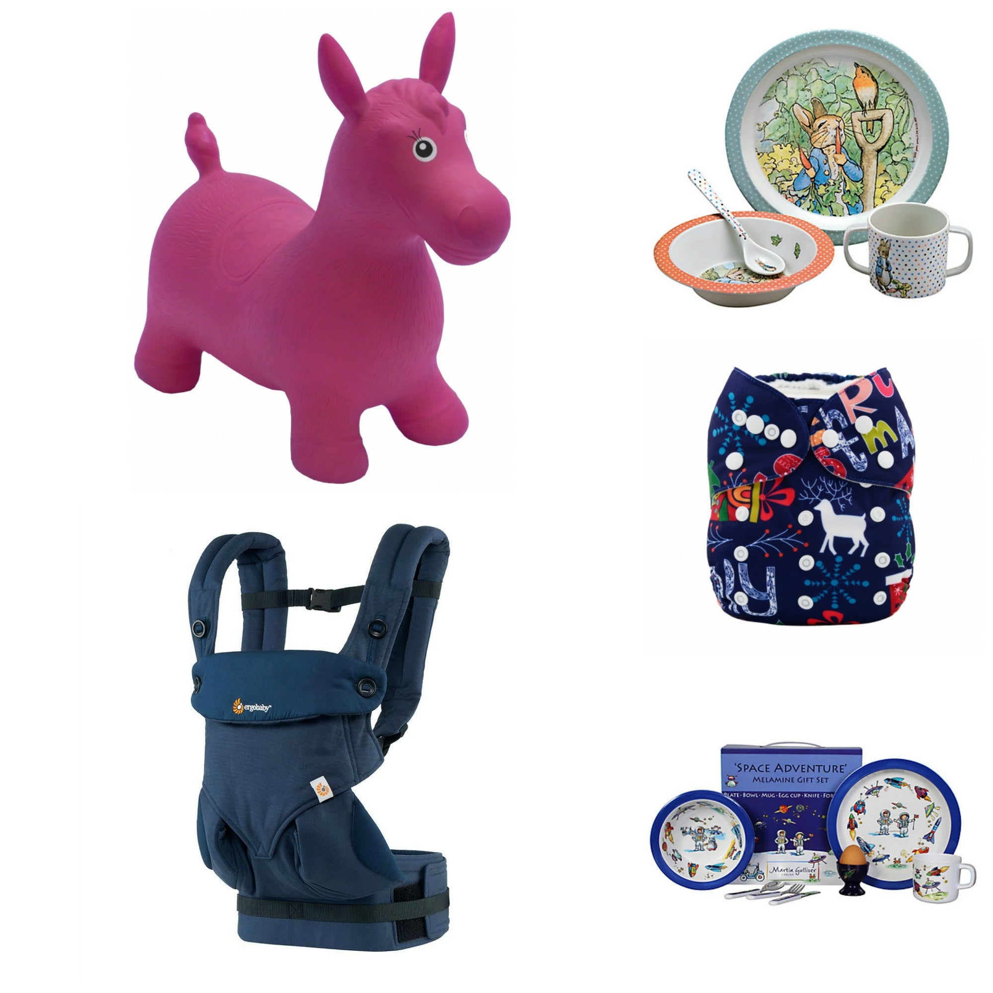 Sacksful of Super Gifts for Babies
