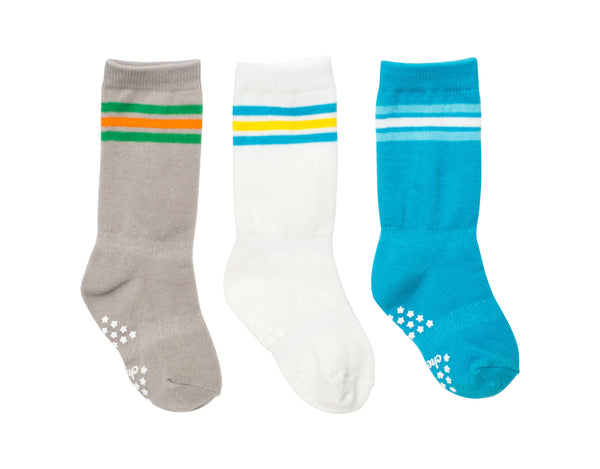 3 Pack Mixed Classic Athletic Socks