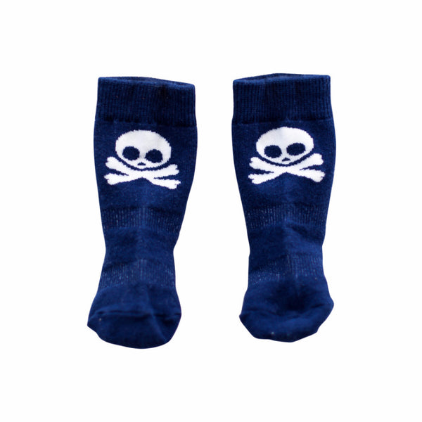 Jolly Roger Knee Socks (0-6 months)