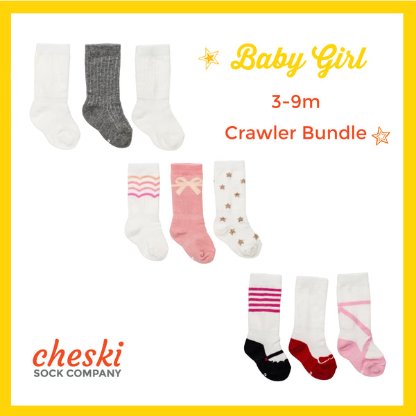 Girl's Crawler Bundle (3-9 month)