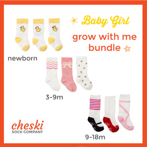 Girl's Grow With Me Bundle (newborn - 18m)