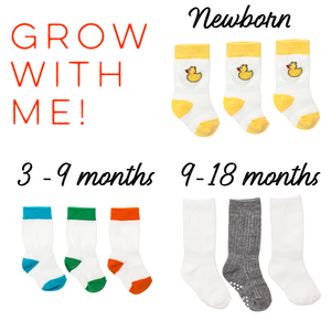 Gender Neutral Grow With Me Bundle (newborn - 18m)