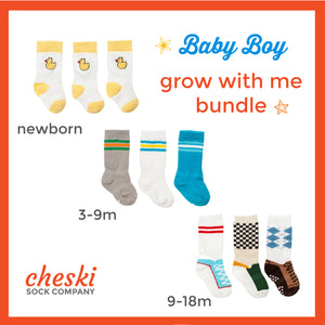 Boys Grow With Me Bundle (newborn - 18m)