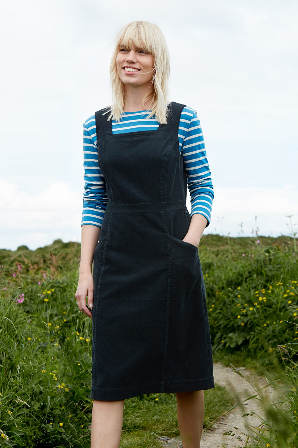 Seasalt High Deck Pinafore Dress